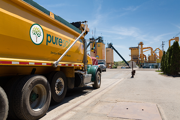 Trucking Process - Pure Soil